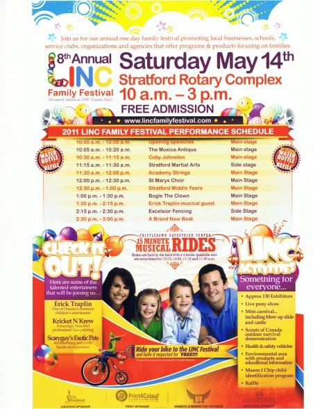Linc 8th Annual Family Festival
