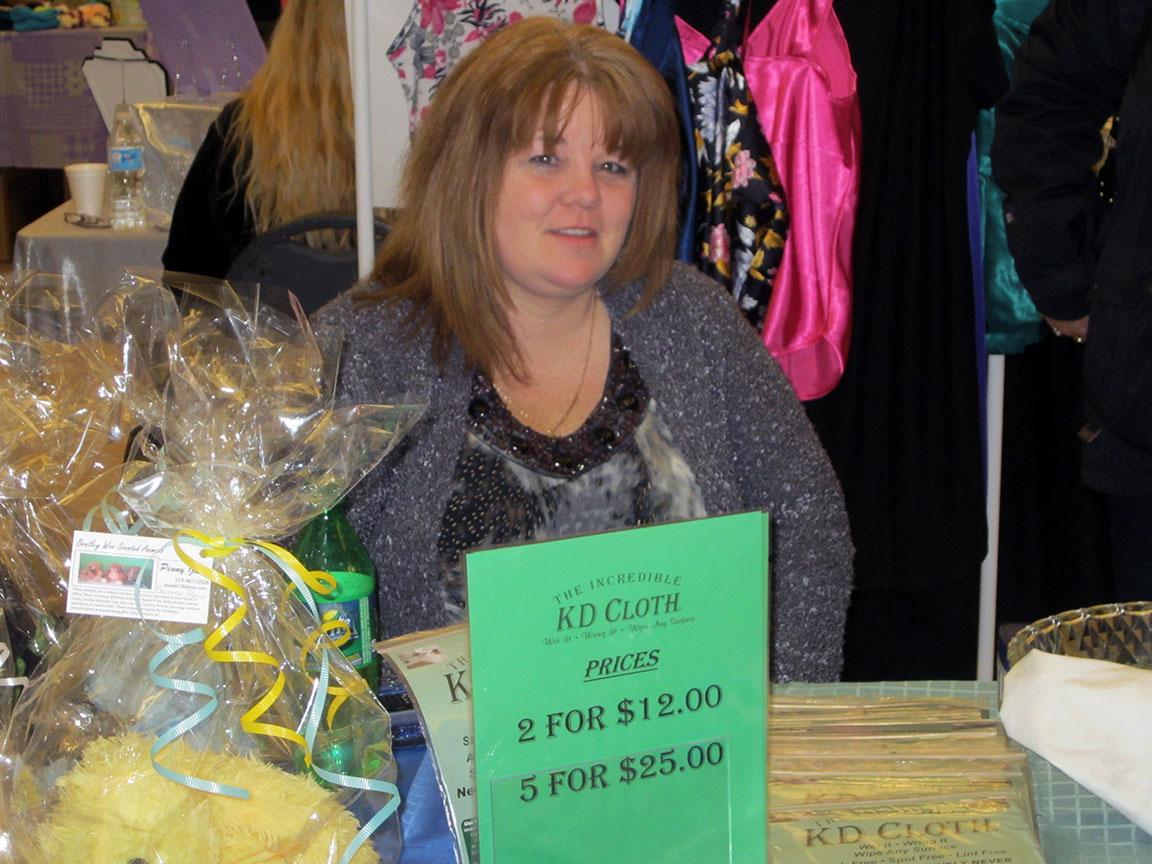 KD Cloth vendor at Spring into HOPE
