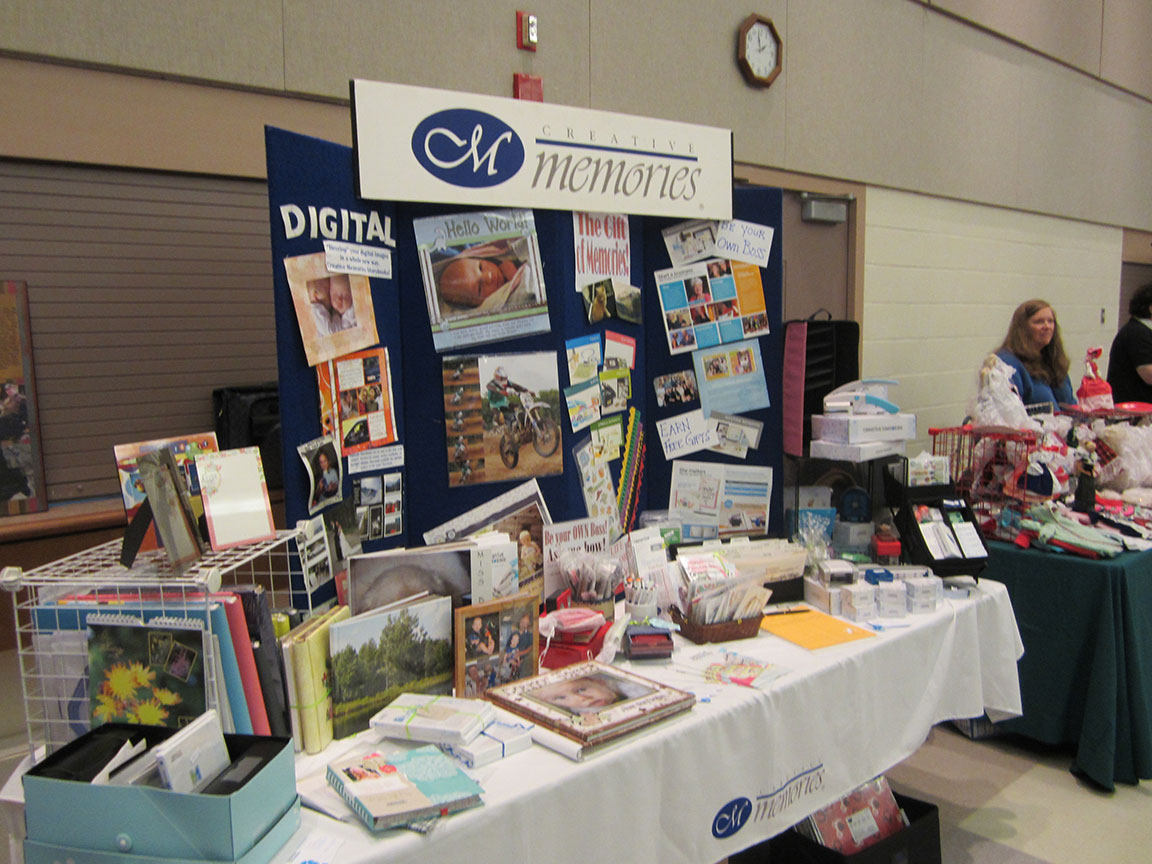 Memories at Spring into HOPE Craft and Vendor Show